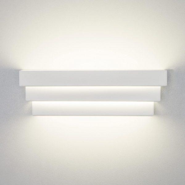 Настенный светильник накладной в форме ступеней для идеального антуража интерьера купить