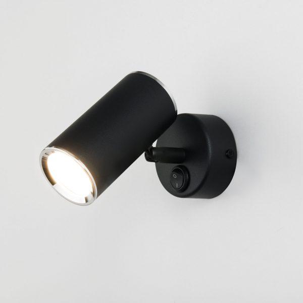 Rutero GU10 SW черный Настенный светодиодный светильник 1