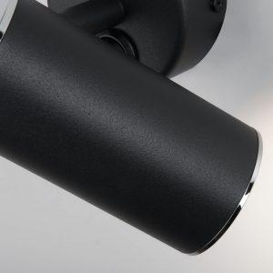 Rutero GU10 SW черный Настенный светодиодный светильник