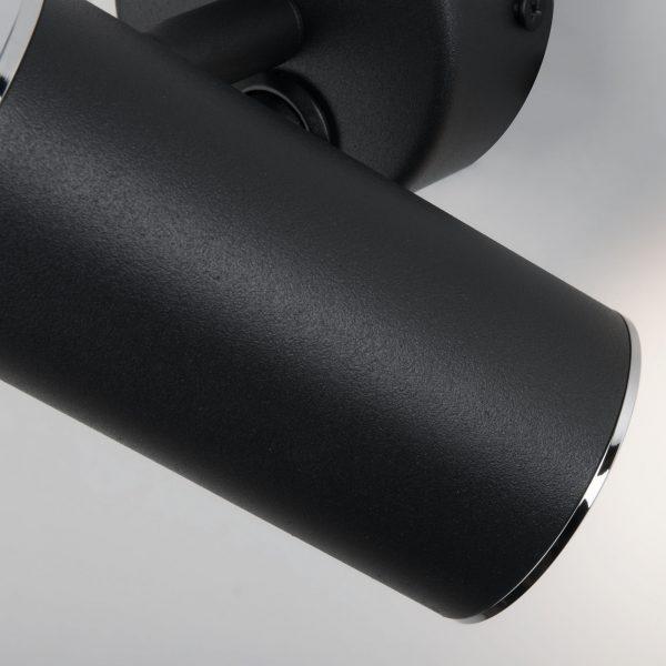 Rutero GU10 SW черный Настенный светодиодный светильник 2