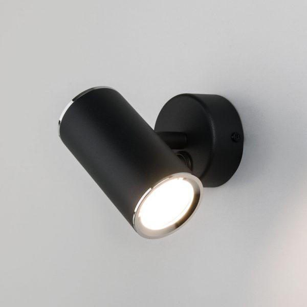 Rutero GU10 SW черный Настенный светодиодный светильник 3
