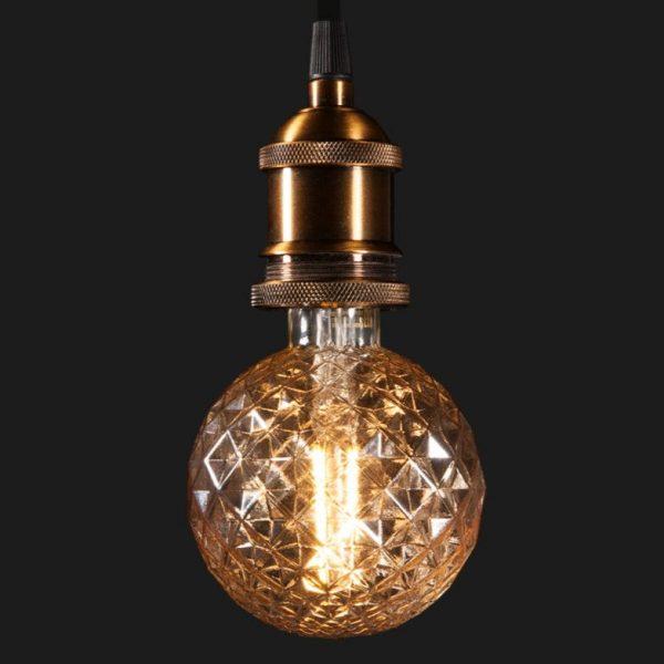 купить декоративную лампу Globe G95 4W 2700K E27 Prisma smartLEDюин