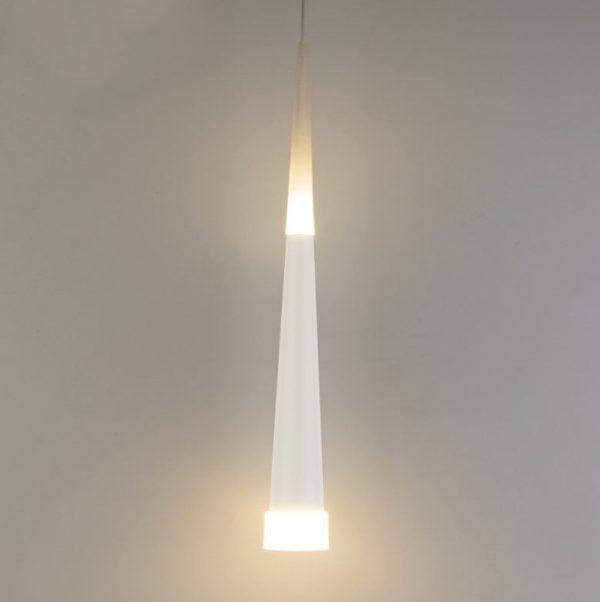 подвесной светильник потолочный белый светодиодный с теплым светом
