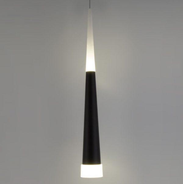 подвесной светильник потолочный чёрный и белый