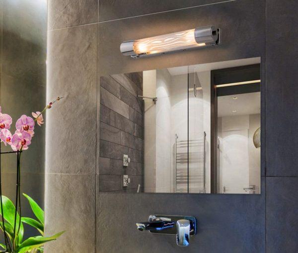 Подсветка для картин и зеркал Grande 7502/2 E14 2*40W волна галерейный светильник