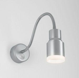 Светодиодный светильник с гибким основанием Molly LED серебро