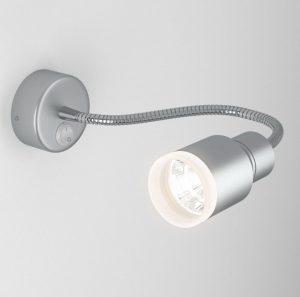 Светодиодный светильник с гибким основанием Molly LED серебро м