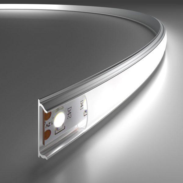 применение гибкого алюминиевого профиля для светодиодной ленты
