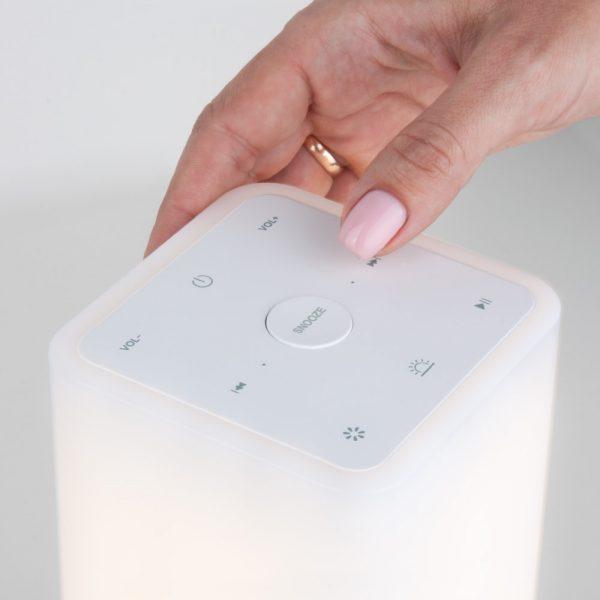 Smart-лампа с Bluetooth-колонкой 80418/1 серебристый отличная идея подарка