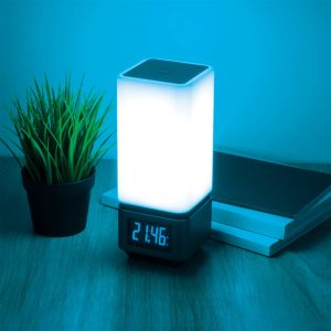 Smart-лампа с Bluetooth-колонкой 80418/1 серебристый с USB