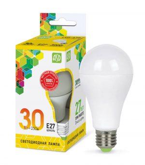 Лампа светодиодная классическая LED-ГРУША-standard 30Вт 230В Е27 2700Лм ASD
