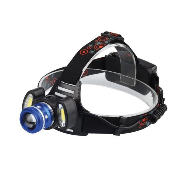 Налобный фонарь аккумуляторный 5+6Вт LED Smartbuy, SBF-HL028 компакт 1