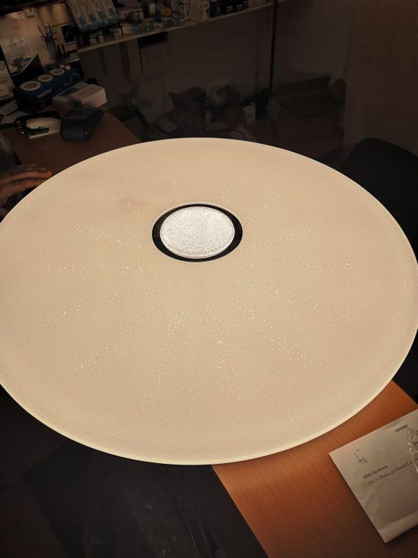 Потолочный управляемый светильник Cатурн, мощностью 100w нейтральный свет