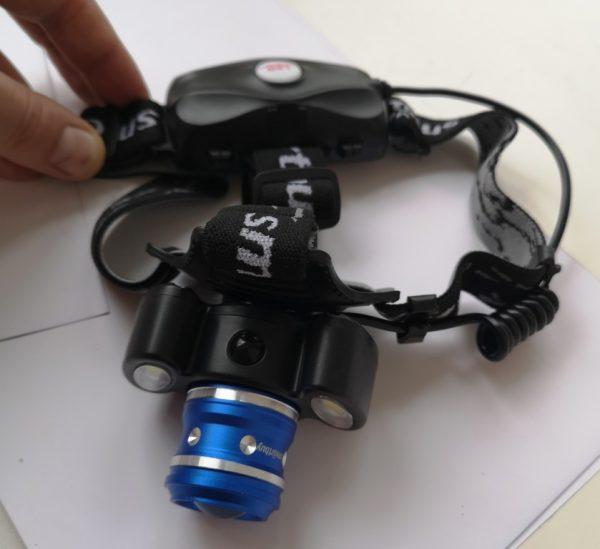 Налобный фонарь LED аккумуляторный купить на smartled.by