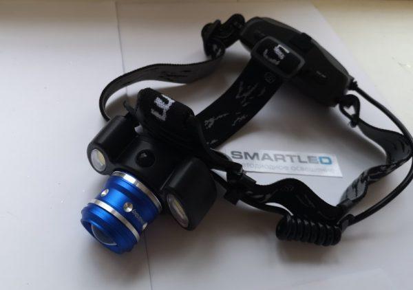 Аккумуляторный налобный фонарь режим дальнего света