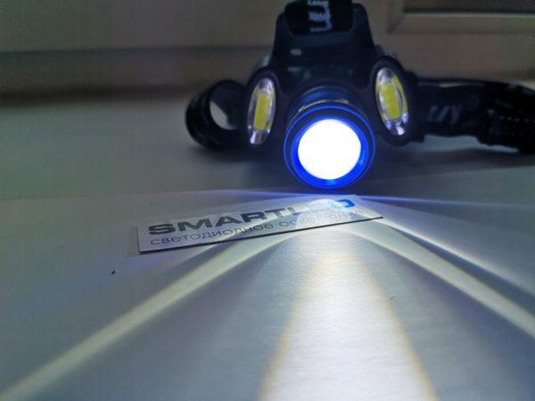 Аккумуляторный налобный фонарь режим ближнего света