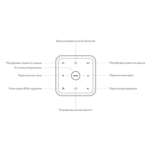 Smart-лампа с Bluetooth-колонкой 80418/1 серебристый