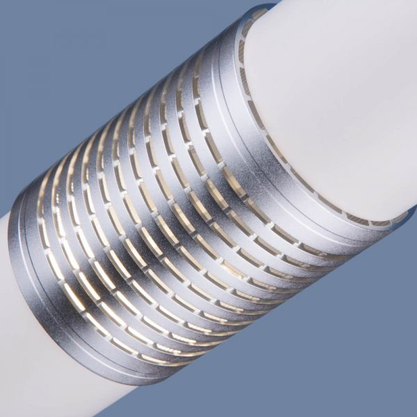 Накладной потолочный светодиодный светильник DLN001 MR16 9W 4200K белый матовый/серебро