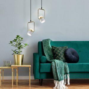 Накладной потолочный светодиодный светильник 50165/1 LED золото/белый