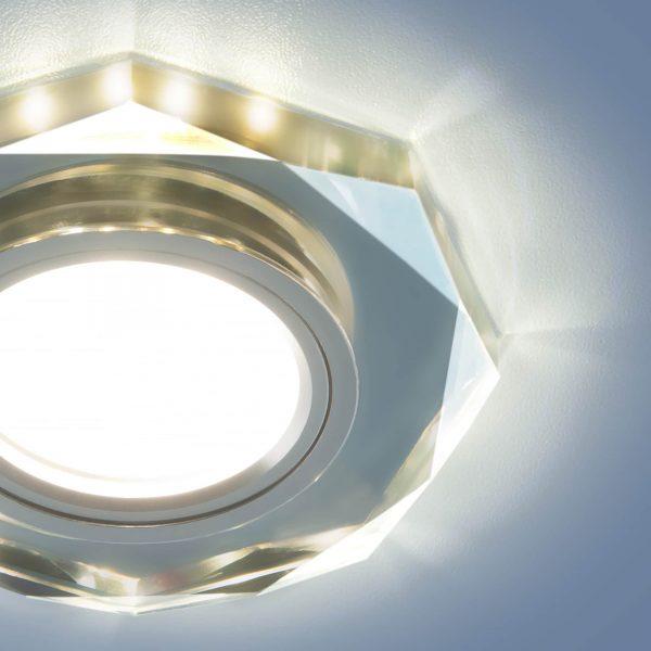 Купить встраиваемый потолочный светильник с подсветкой