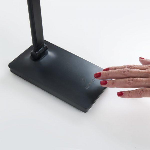 Настольный светодиодный светильник 80423/1 черный сенсорный