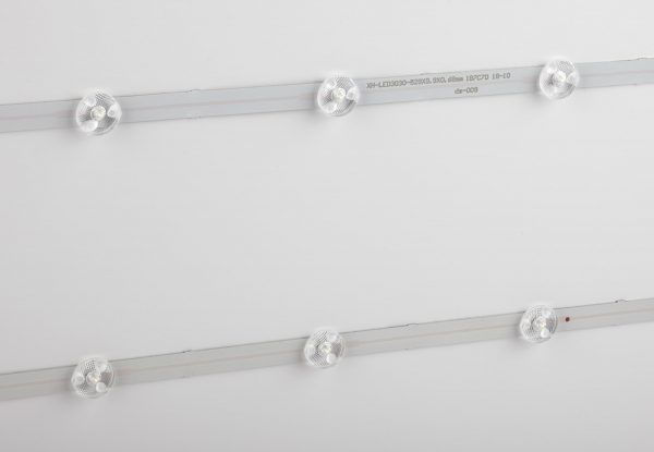 Панель SPO-1-40-4K-M ЭРА 595х595х25, 40W схема установки светодиодных элементов