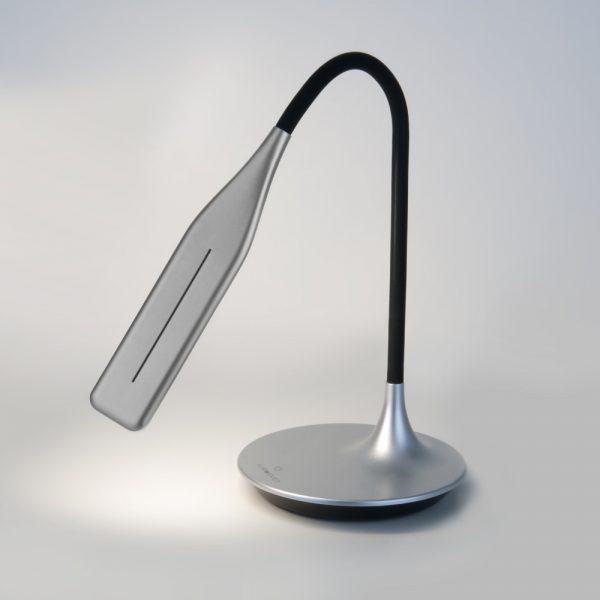 Настольный светодиодный светильник 80422/1 серебристый