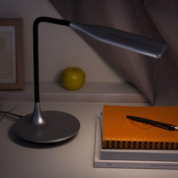 Настольный светодиодный светильник 80422/1 серебристый сенсорный