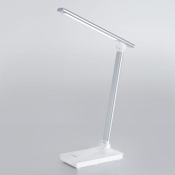 Настольный светодиодный светильник 80423/1 серебристый сенсорное управление