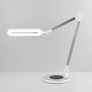 Настольный светодиодный светильник 80420/1 серебристый
