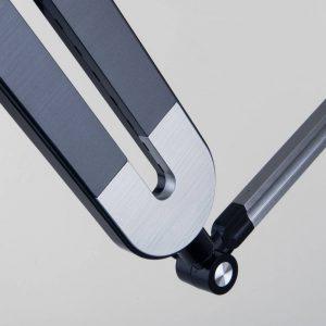 Настольный светодиодный светильник 80420/1 графит