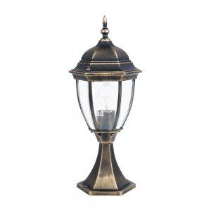 Светильник садово-парковый DALLAS II 1279S металл для столбиков забора и ландшафта