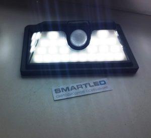 Аккумуляторный прожектор на солнечной батарее с датчиком движения