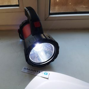 Аккумуляторный многорежимный фонарь