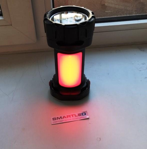 Кемпинговый фонарь - прожектор 5+3W