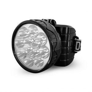 Аккумуляторный светодиодный налобный фонарь 12 LED, 900 мАч, Smartbuy (SBF-HL032)