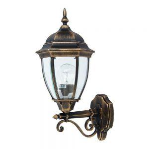 Светильник садово-парковый DALLAS II 1276S металл настенный