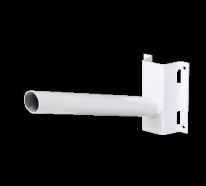 Кронштейн для консольных светильников на столб белого цвета.