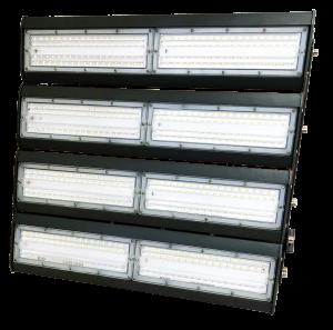 светильник для освещения стадиона, спортивной площадки 8 секций по 50 ватт холодный свет, степень защиты ip65