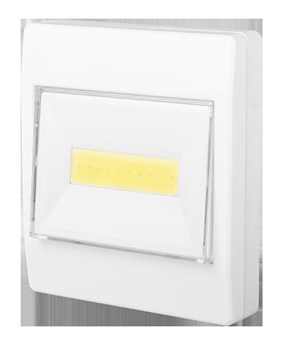 светильник на батарейках для дачи в форме включателя