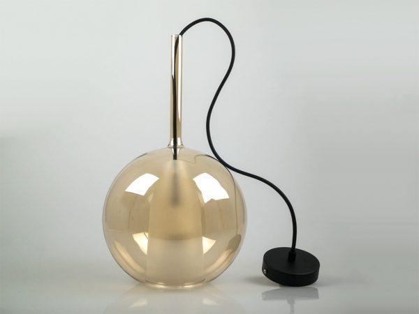 светильник с двойным стеклом