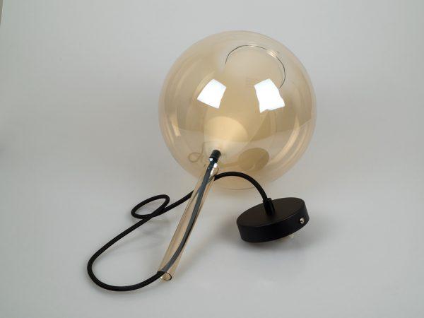 Светильник в форме янтарного графина купить