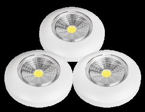 светильники пуш лайт push light набор из 3-х штук