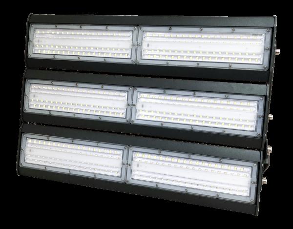 светильник для освещения стадиона, спортивной площадки 6 секций по 50 ватт холодный свет, степень защиты ip65