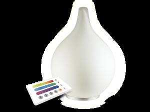 декоративный RGB светильник в форме капли с пультом управления