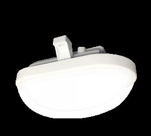 Светильник IP65 для подъездов и улицы овал купить в минске 12w нейтральный свет