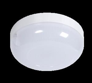 Светильник для подъездов с акустическим датчиком круглый 10w нейтральный дневной свет
