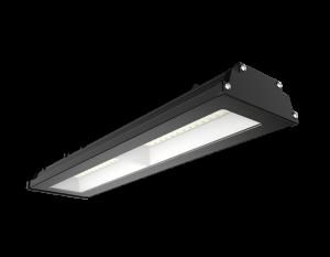 Светильник для монтажа над пролётами склада и производства 200w 5000K 19000lm