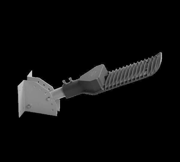 Держатель на стену или столб для светильника д40 8 1,5 консольного