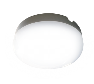 Светильник для подъездов с микроволновым датчиком движения круглый 10w нейтральный дневной свет